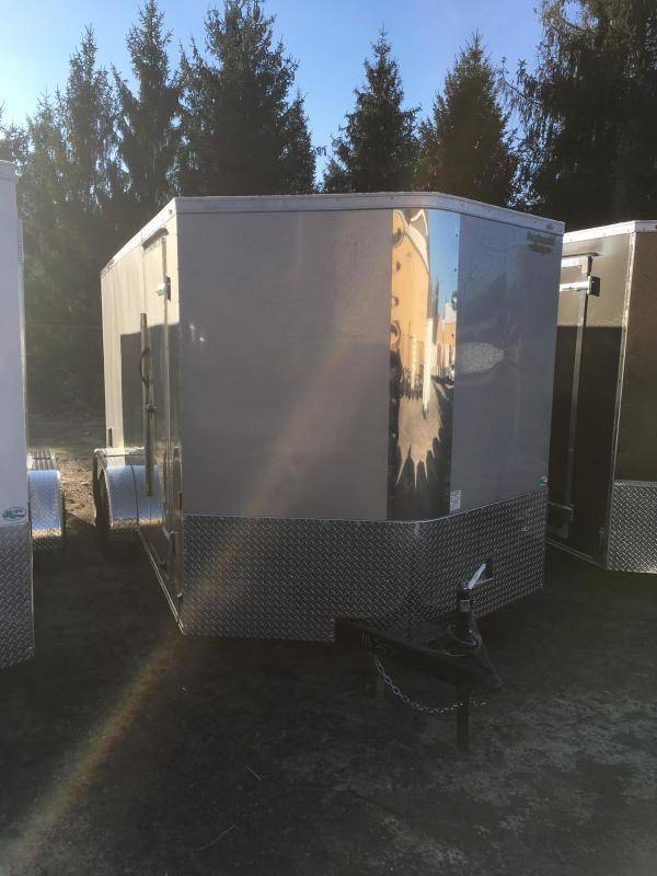 2020 Continental Cargo 7x16 vnose sd ramp door Enclosed Cargo Trailer