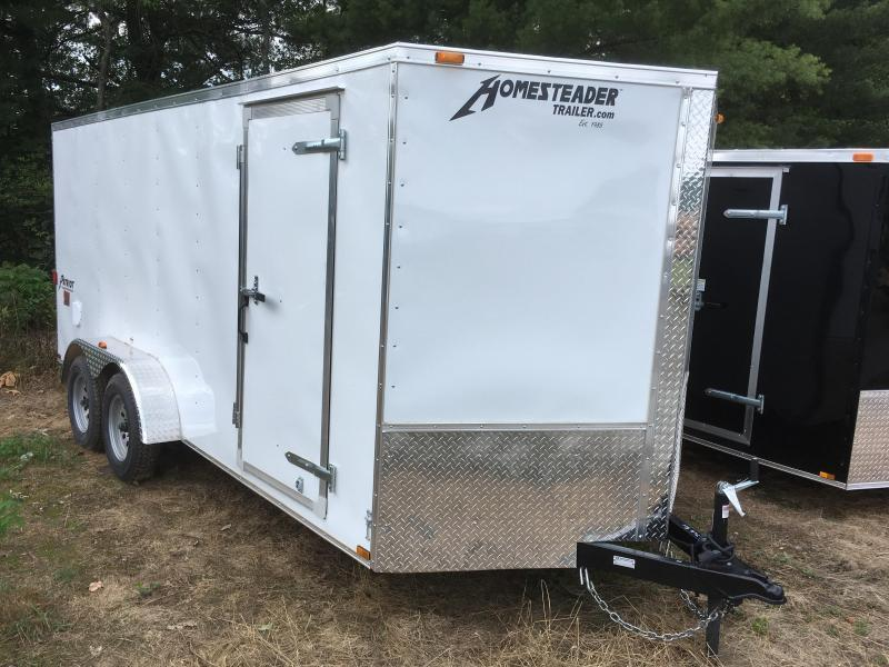 2019 Homesteader 7x16 Intrepid sd ramp Enclosed Cargo Trailer
