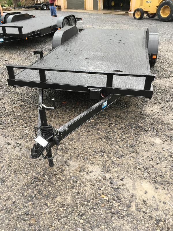 2019 Other 82x18 steel car hauler left removable fender Car / Racing Trailer