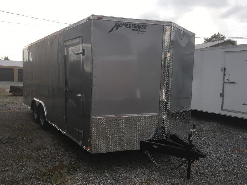 2019 Homesteader 8.5X20 Intrepid 5ton Car Hauler Enclosed Cargo Trailer