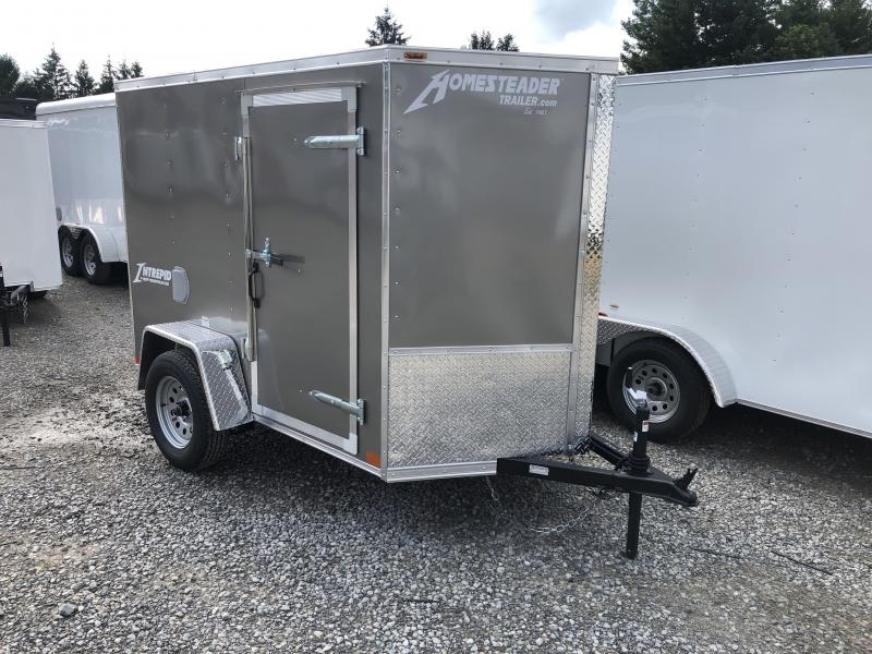 2020 Homesteader Inc. 5x8 Intrepid sd ramp Enclosed Cargo Trailer