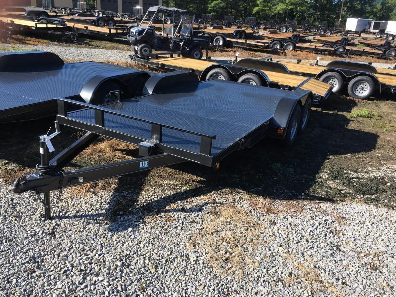 2018 Other 82x16 steel floor car hauler Car / Racing Trailer