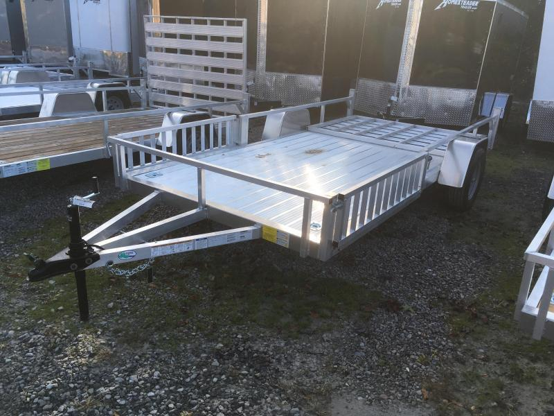 2019 Forest River Inc. 78x14 AFG all aluminum side ramps Utility Trailer