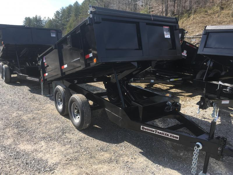 2019 Hawke Trailers 6X10 5TON DECKOVER WITH TARP Dump Trailer