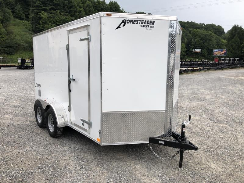 2020 Homesteader 7x12 Intrepid tandem 6in extra ht sd ramp Enclosed Cargo Trailer