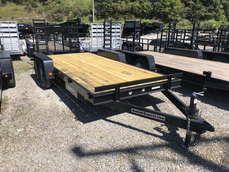 2019 Triple Crown 82x18 5ton equipment trailer