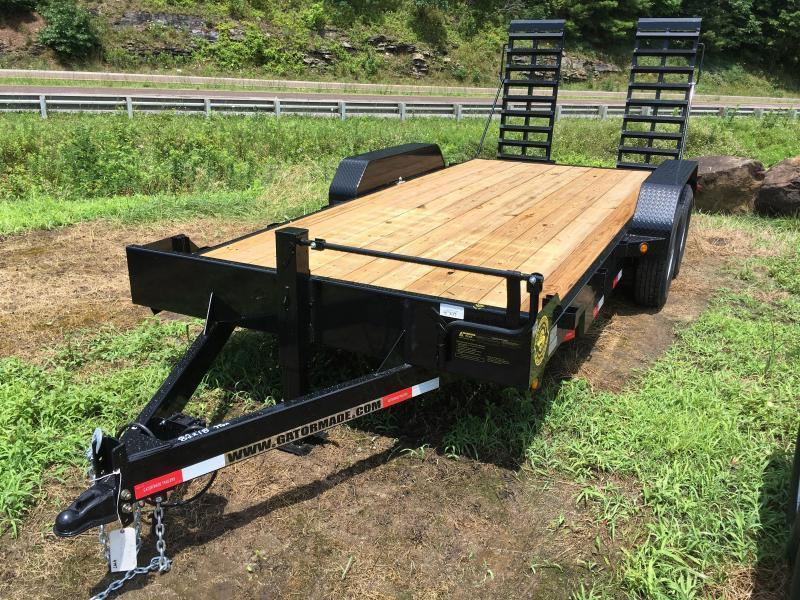 2019 Gatormade Trailers 82X18 7TON Equipment Trailer