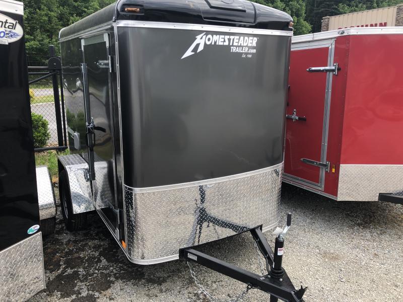 2020 Homesteader Inc. 5x8 challenger sd ramp door 6in extra ht Enclosed Cargo Trailer