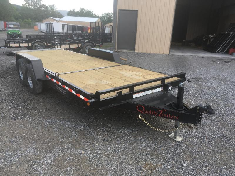 2019 Quality Trailers 82x20(6+14) 7ton Tilt bumper pull Equipment Trailer