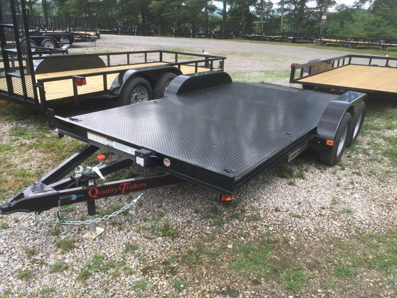 2020 Quality Trailers 82x16 steel car hauler Car / Racing Trailer