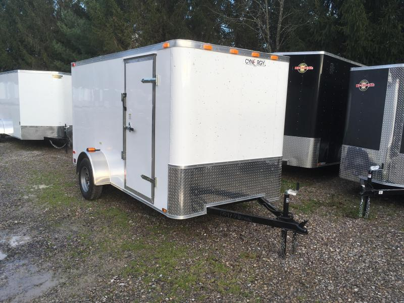 2017 Cynergy Cargo 6x12 flat nose sd ramp Enclosed Cargo Trailer