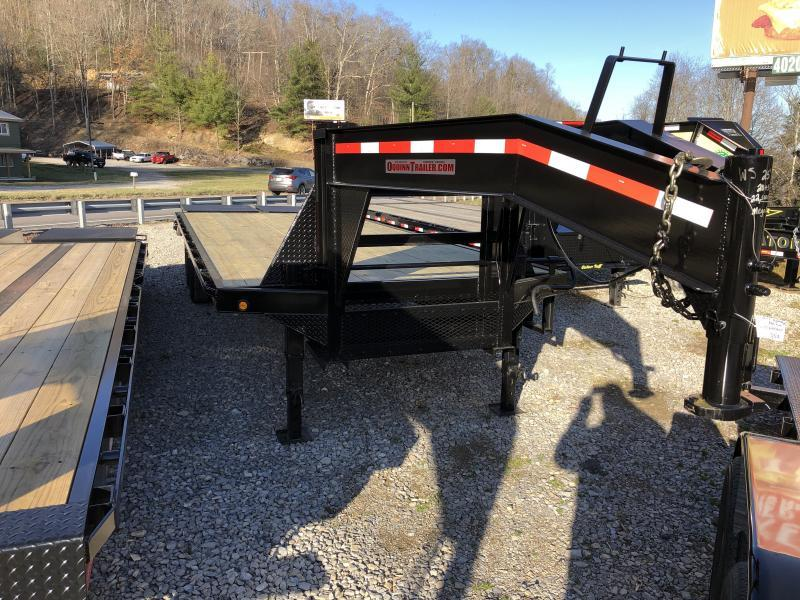 2019 Other (Not Listed) 25ft tandem dual mega ramps gooseneck Equipment Trailer
