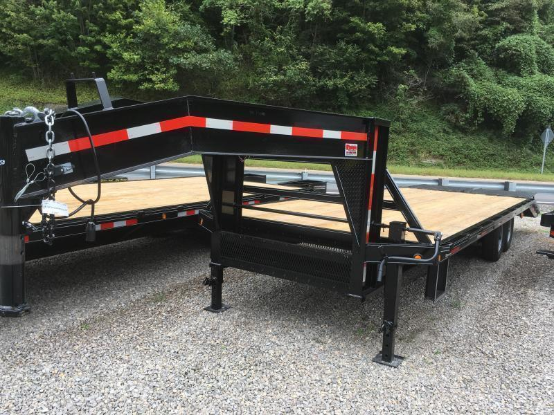 2019 Other 25ft 7Ton Deckover Gooseneck mega ramps Equipment Trailer