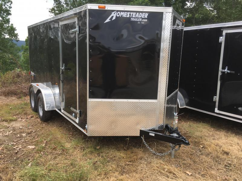 2019 Homesteader 7x14 Intrepid sd ramp Enclosed Cargo Trailer