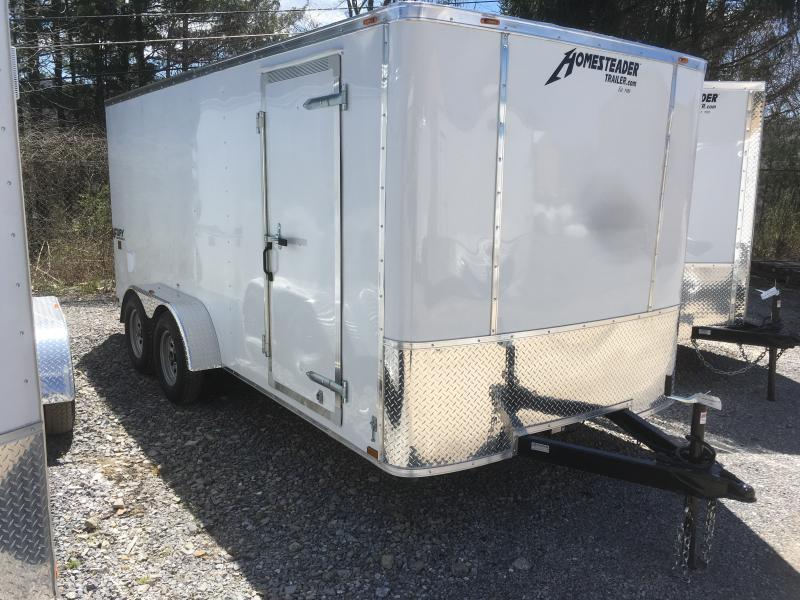 2020 Homesteader 7x16 Fury SD Ramp Enclosed Cargo Trailer
