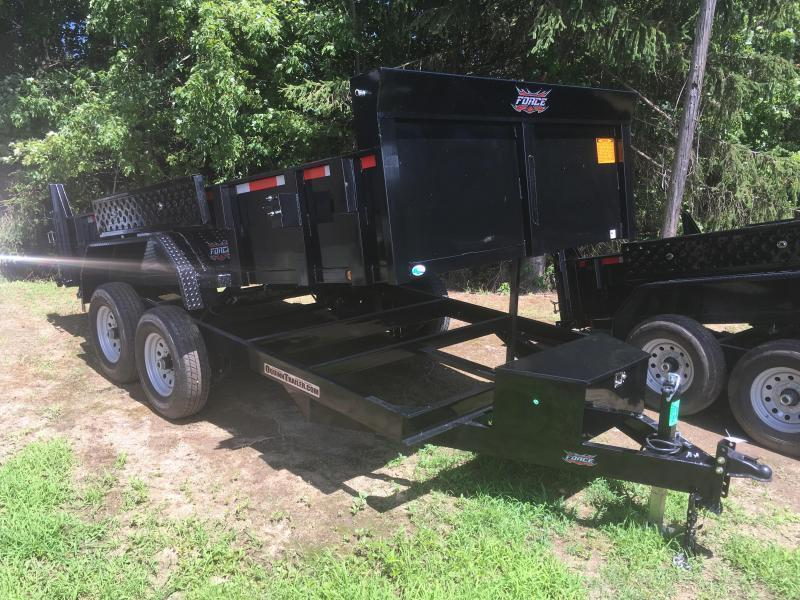 2019 Forest River Inc. 7x14 7ton Dump Trailer