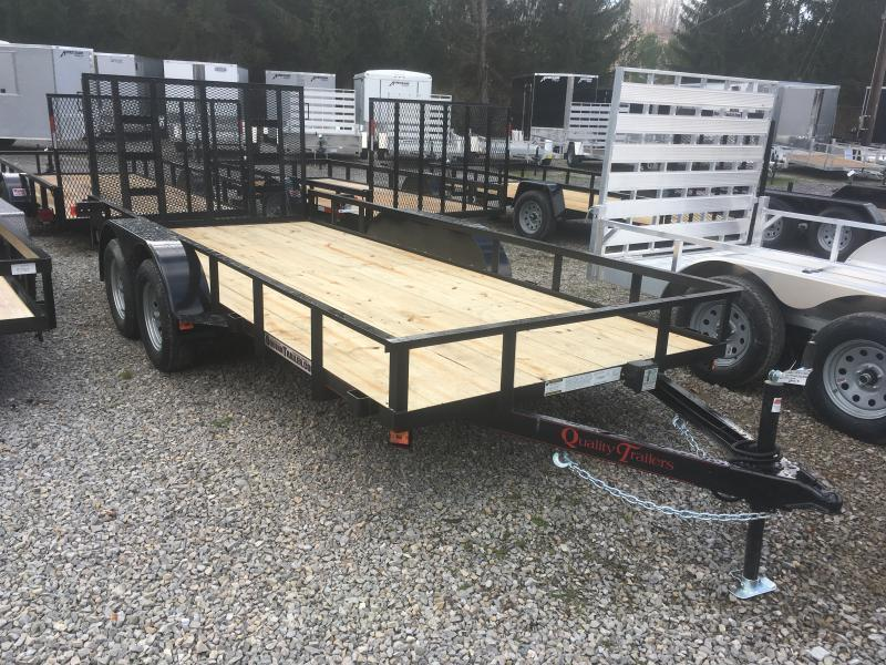 2019 Quality Trailers 76x16 HD Gate Utility Trailer