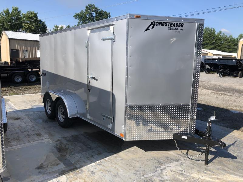 2020 Homesteader 7x14 Intrepid sd ramp Enclosed Cargo Trailer