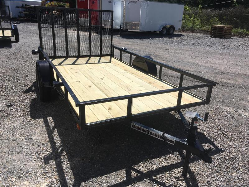 2019 Other (Not Listed) 76x12 gate single axle Utility Trailer