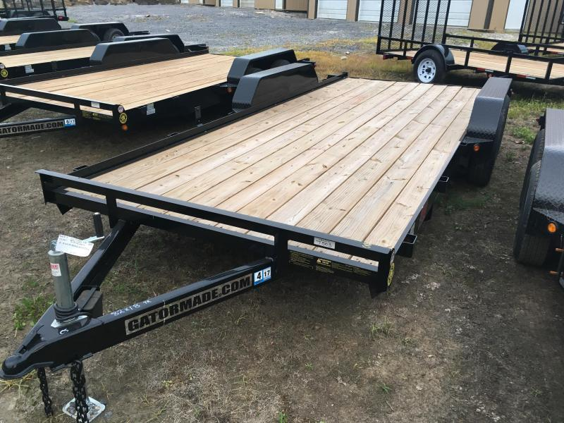 2019 Gatormade Trailers 18 wood car hauler Car / Racing Trailer