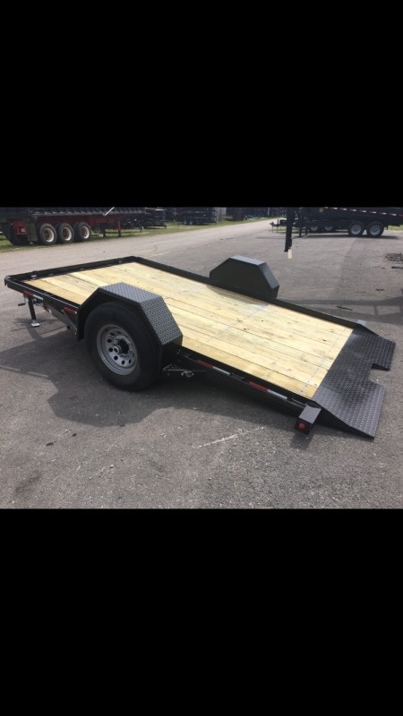 2019 Gatormade Trailers 7000 GVWR 82x12 HD Tilt Equipment Trailer