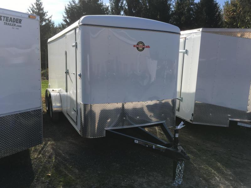 2017 Carry-On 7x16 Round Top Double Door Enclosed Cargo Trailer