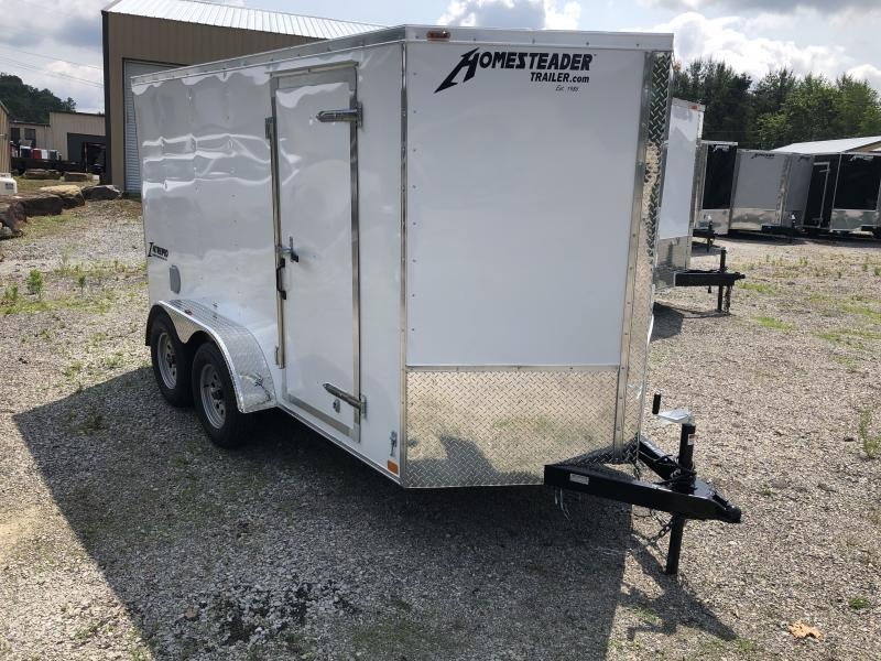 2020 Homesteader 6x12 tandem axle Intrepid sd ramp door Enclosed Cargo Trailer
