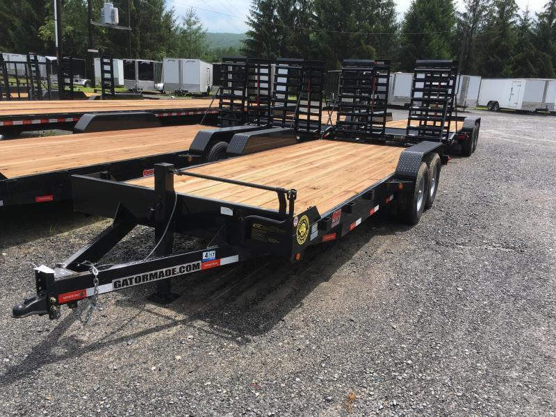 2020 Gatormade Trailers 82x20 7ton Equipment Trailer