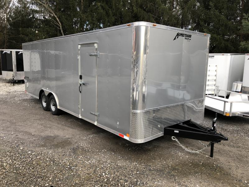 2019 Homesteader 8.5x24 Champion SGT Flat Nose 5 ton car hauler Enclosed Cargo Trailer