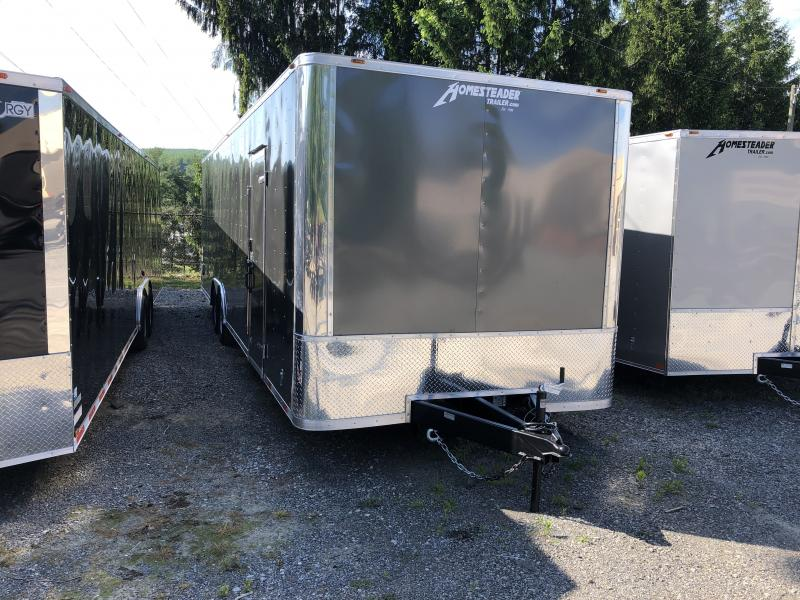 2019 Homesteader 8.5x28 Champion SGT Flat Nose 7'tall 5 ton car hauler Enclosed Cargo Trailer