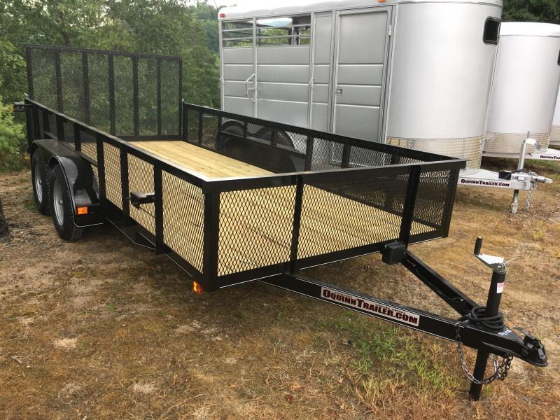 2019 Other (Not Listed) 82x16 2ft mesh sides Utility Trailer