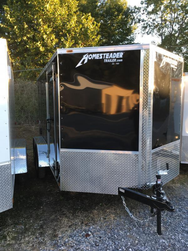 2019 Homesteader 7x12 Intrepid sd ramp Tandem Enclosed Cargo Trailer