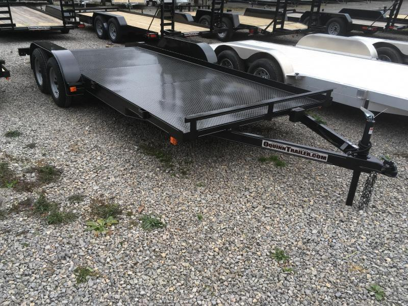 2019 Other 82x18 basic steel car hauler Car / Racing Trailer