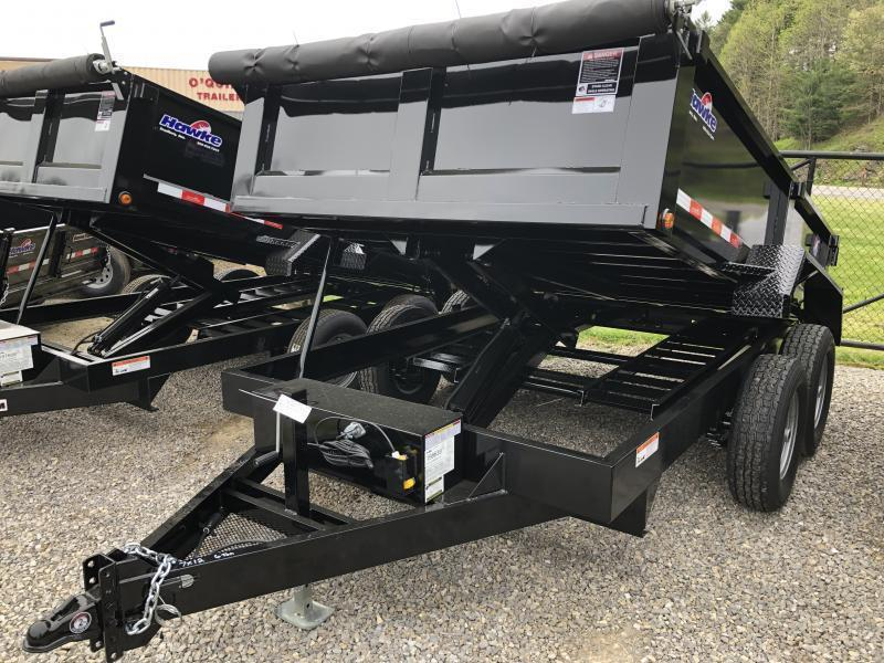 2019 Hawke Trailers 7X12 6TON  WITH TARP Dump Trailer