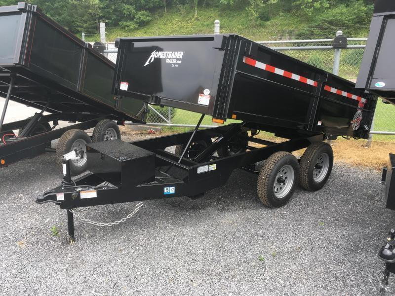 2019 Homesteader 6x10 3.5 ton dump Dump Trailer