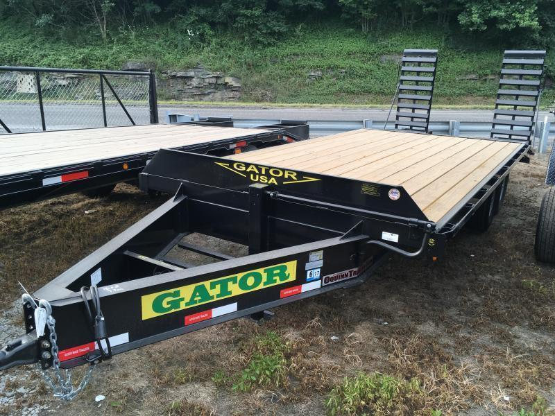 2019 Gatormade Trailers 21ft 7ton deckover bumper pull Equipment Trailer
