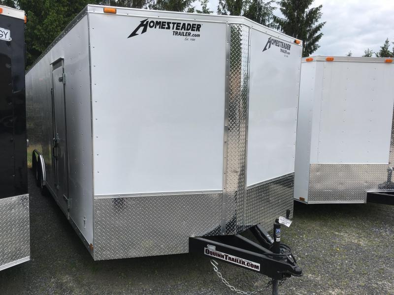 2019 Homesteader 824it 3 1/2 ton car hauler Enclosed Cargo Trailer