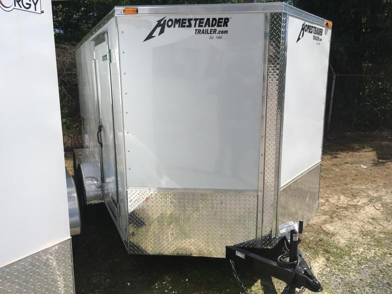 2020 Homesteader 7x12 Intrepid sd Double Door Enclosed Cargo Trailer