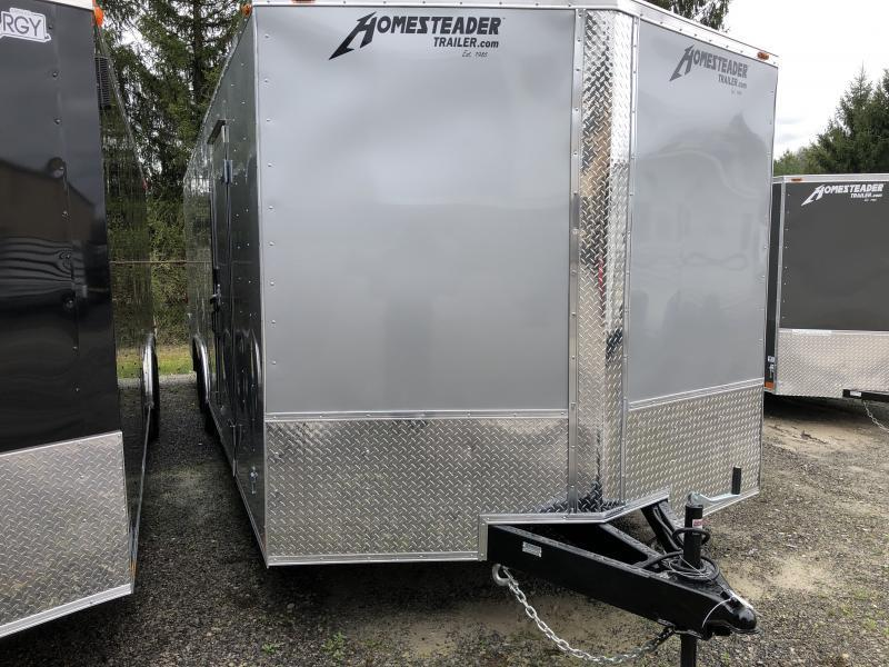 2020 Homesteader 824it intrepid 5 ton car hauler wider ramp Enclosed Cargo Trailer