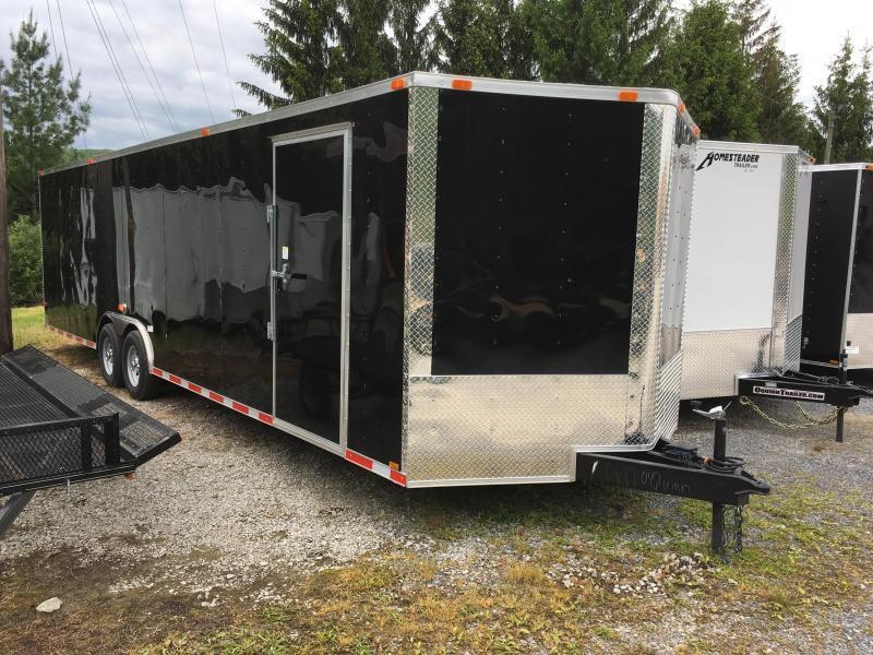 2017 Cynergy 8.5x28 5ton car hauler Enclosed Cargo Trailer