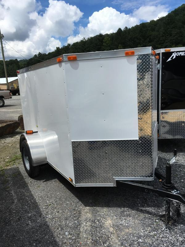 2018 Cynergy 5x8 v nose ramp only Enclosed Cargo Trailer