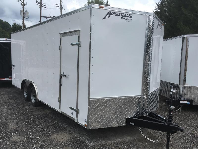 2018 Homesteader 8.5X20 7' tall Patriot Car Hauler Enclosed Cargo Trailer