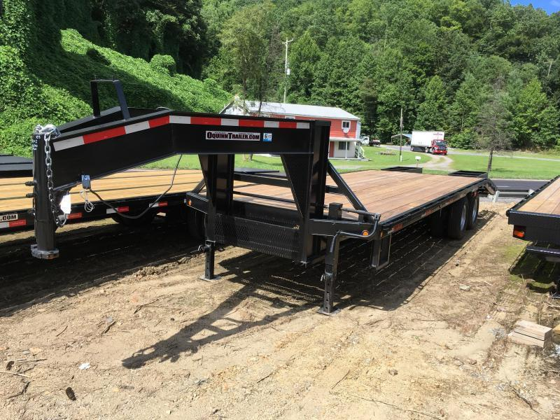 2018 Other (Not Listed) 25ft tandem dual gooseneck Equipment Trailer