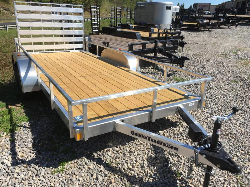 2019 Forest River 78x16 aluminum utility Utility Trailer