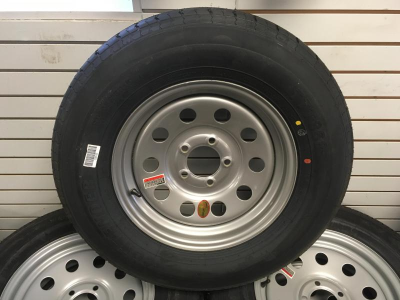 "15"" Radial new tire and wheel"