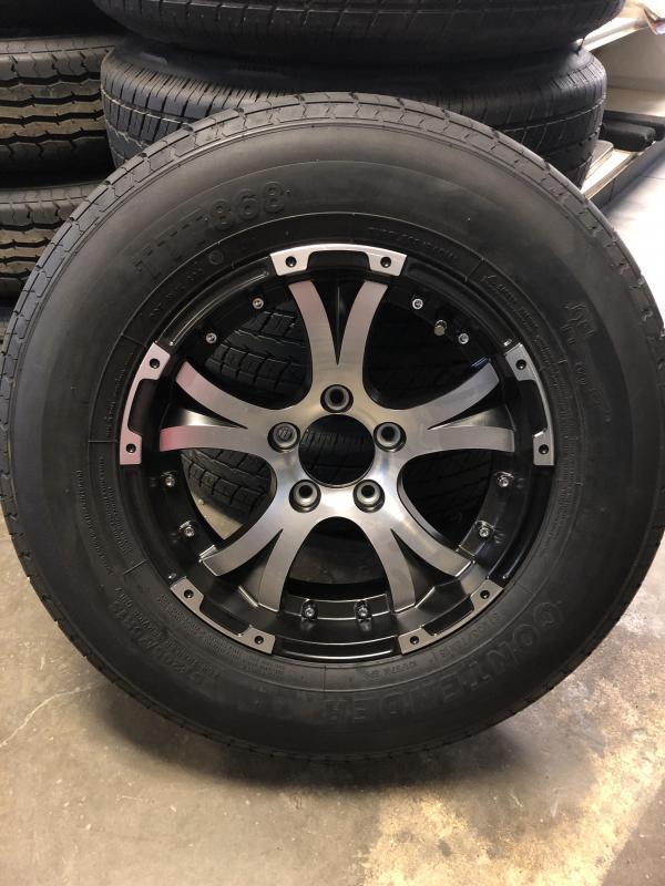 """5lug 15"""" aluminum wheel and tire"""