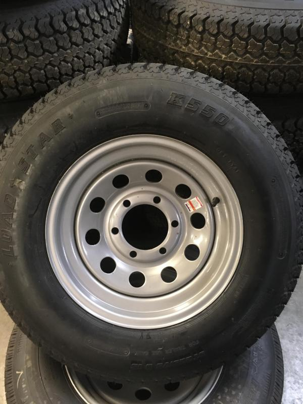 225 bias 6 lug new tire and wheel