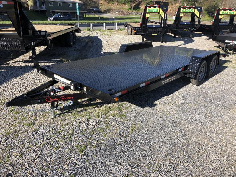 2019 Quality Trailers 82x20 steel car hauler 4brake Car / Racing Trailer