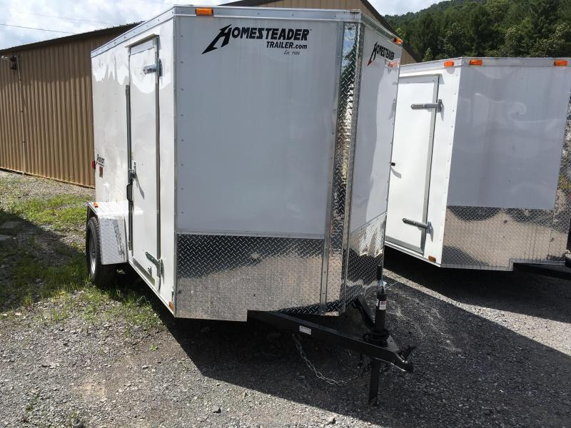 2017 Homesteader Inc. 6x10 patriot double door single axle Enclosed Cargo Trailer