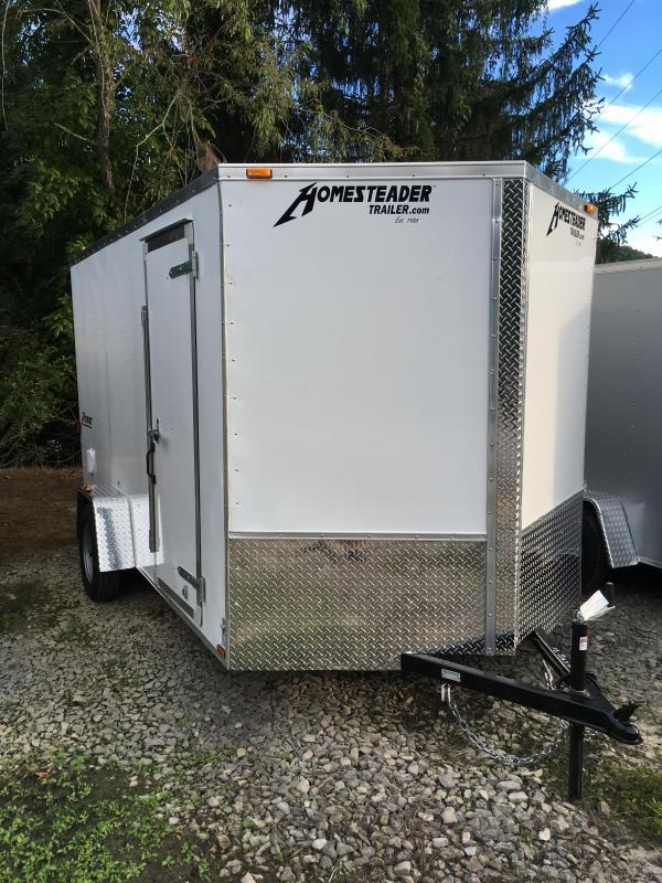 2017 Homesteader 7x12 patriot 6in extra ht ramp door Enclosed Cargo Trailer